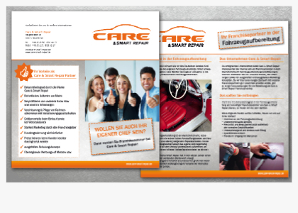 Messeflyer für Care & Smart Repair