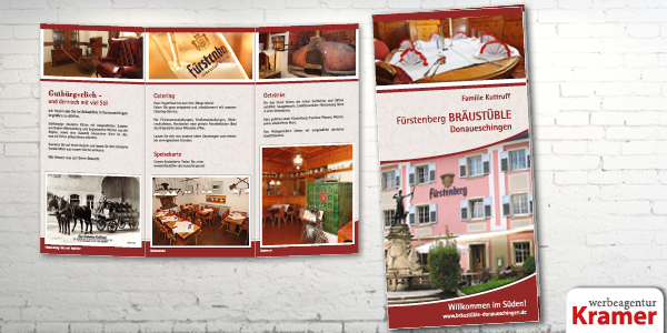 Flyer Folder Faltblatt